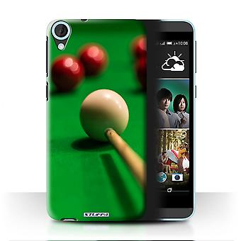 STUFF4/Housse pour HTC Desire 820q Dual/Red Ball/Cue/Snooker