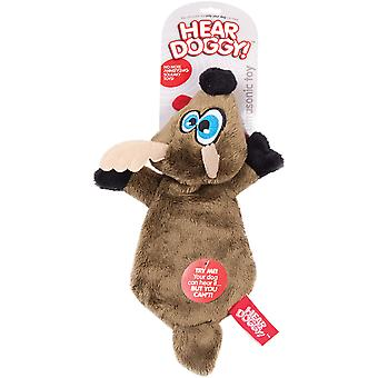Hear Doggy Flattie-Brown Deer 58511