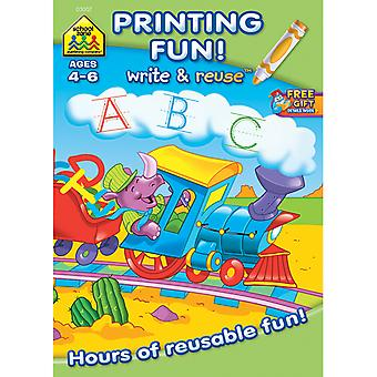Write And Reuse Workbook Printing Fun! Szwrw 3007