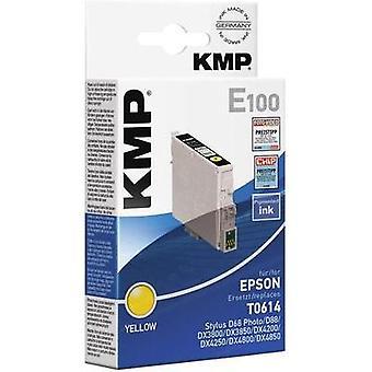KMP Ink replaced Epson T0614 Compatible Yellow