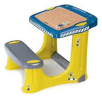Smoby Coloring Minions desk + Case
