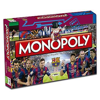 Hasbro English Monopoly Edition Fc Barcelona (Spielzeuge , Brettspiele , Strategie)