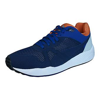 Puma XS500 Compression Mens Trainers / Shoes - Blue