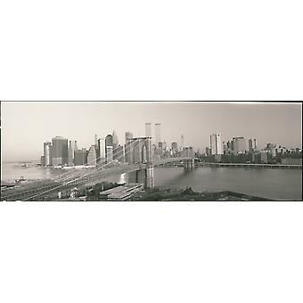 Brooklyn Bridge Manhattan New York City-NY Poster afdrukken