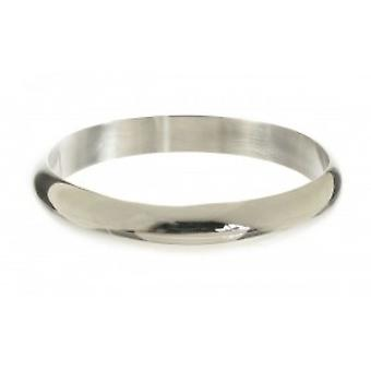 Cavendish French Sterling Silver Simple Circle Bangle