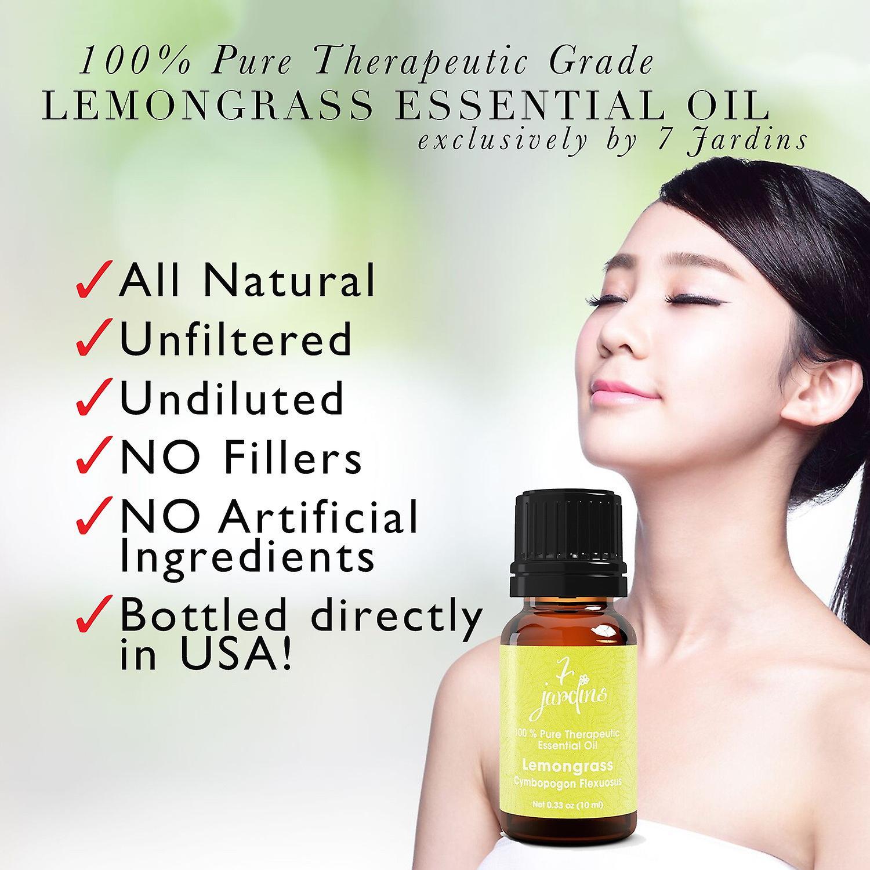 Citrongræs æteriske olie - Cymbopogon Flexuosus 100% ren