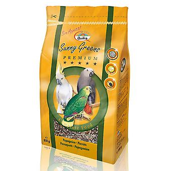 Quiko Parrot Sunny Greens Complete Food 850g