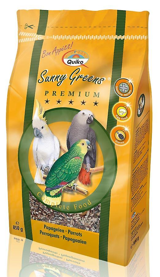 Quiko Parrot Sunny Greens Complete Food 850g