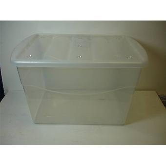 40ltr Eco Base Storage Box Clear
