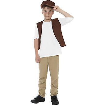 Betteljunge young street kid kids costume 2-piece set