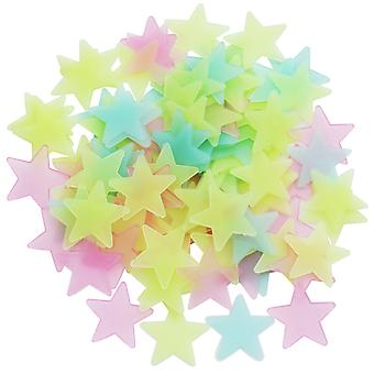 TRIXES Assorted pack of Stick-On Glow in the Dark Stars Fun Play