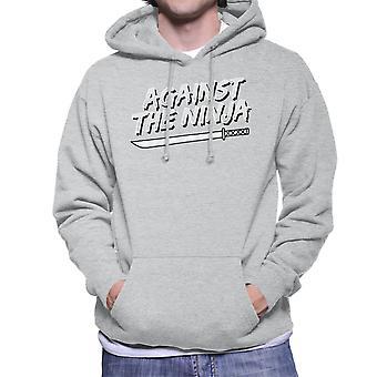 Against The Ninja Men's Hooded Sweatshirt