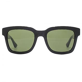 Gucci Urban Square Sunglasses In Black Green