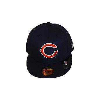 Nieuw tijdperk Team Pique Chicago Bears Cap - Navy