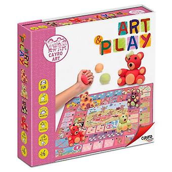 Cayro Art Play Bear (Toys , Educative And Creative , Arts And Crafts , Dough)