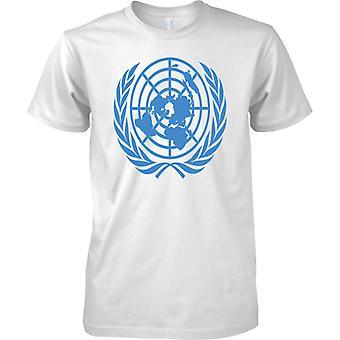 United Nations UN Emblem - Mens T Shirt