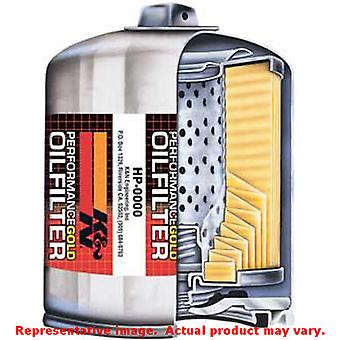 K&N Performance Gold Oil Filter HP-8031 Fits:NON-US VEHICLE SEE NOTES FOR