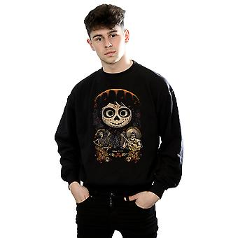 Disney Men's Coco Miguel Face Poster Sweatshirt