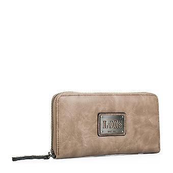 92701 portefølje tegnebog pung indehaveren kvinde lynlås rum til kort og dokumentation. Faux læder - imiteret læder.