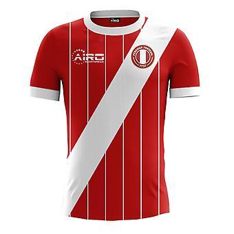 2017-2018 Peru Away Konzept Fußballtrikot (Kids)