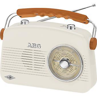 AEG Radio portatile til 4155 crema NR retrò!