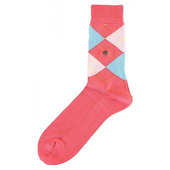 Burlington Covent Garden Socks - hell rosa/Pink/hellblau