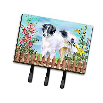 Carolines Treasures  CK1234TH68 Borzoi Spring Leash or Key Holder