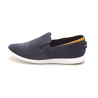 Cole Haan Womens 15A4157 Suede Low Top Slip On Fashion Sneakers