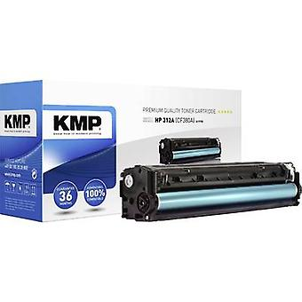 KMP Toner cartridge replaced HP 312A, CF380A Compatible Black