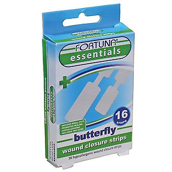 Fortuna Butterfly Wound Closure Strips x16