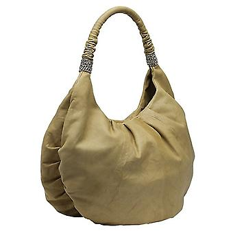 Burgmeister ladies shoulder bag T225-215B leather camel