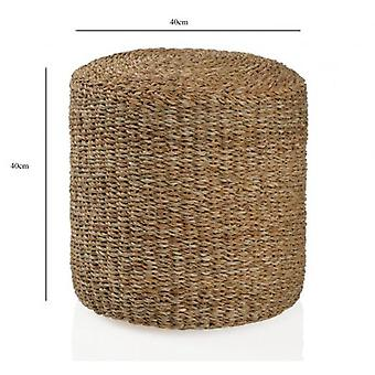 Wellindal Round puff 40x40 cm (Furniture , Sofas , Puffs and footrest)