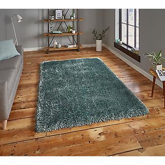 Montana Aqua Blue  Rectangle Rugs Plain/Nearly Plain Rugs
