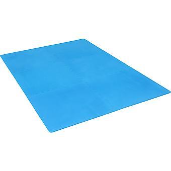 Schutzmattenset mit Endstücken Blau