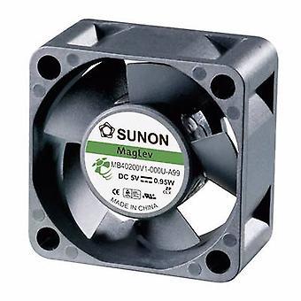 Sunon MB40200V2-0000-A99-støpsel fan 5 Vdc 13.08 m³/t (L x b x H) 40 x 40 x 20 mm