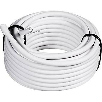 Conrad Components 1511002/25 Coax Outside diameter: 6.60 mm RG6 /U 75 Ω 65 dB White 25 m