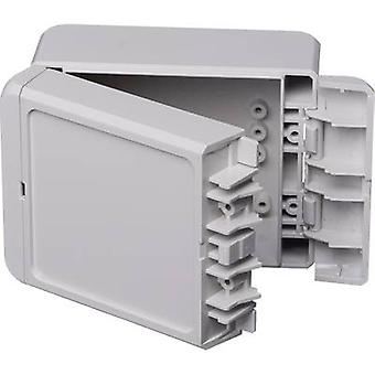 Bopla Bocube B 100809 PC-V0-7035 Wall-mount enclosure, Build-in casing 80 x 113 x 60 Polycarbonate (PC) Light grey (RAL 7035) 1 pc(s)
