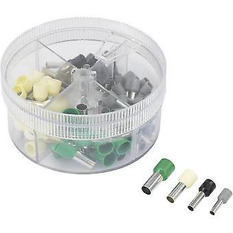 Ferrule set 4 mm² 16 mm² Grey, Black, Ivory, Green Conrad Compon