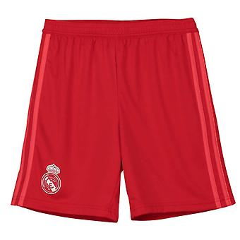 2018-2019 real Madrid Adidas derde Shorts (rood) - Kids