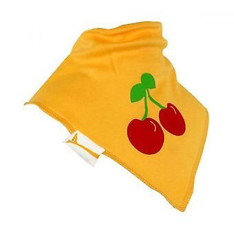 Babero bandana de cerezas amarillas