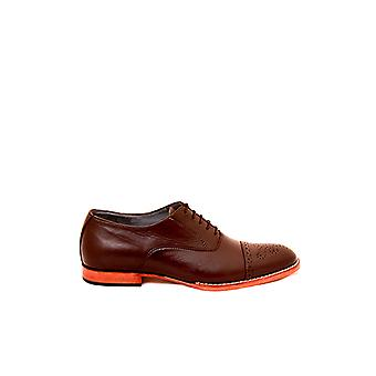 Handcrafted Premium Leather Gilson Brown Oxford Shoe