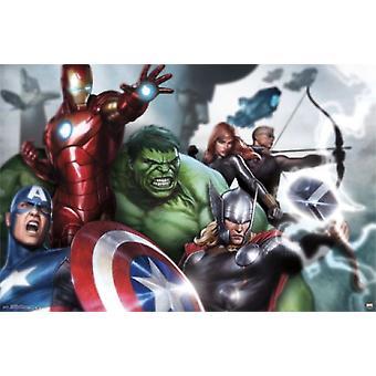 Avengers - Assemble Poster Print