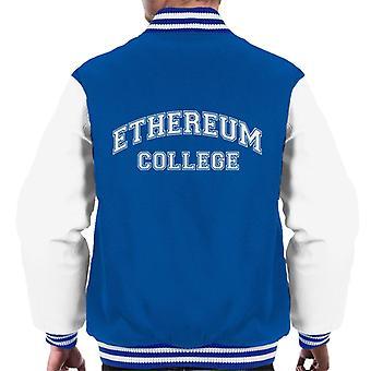 Ethereum College Men's Varsity Jacket