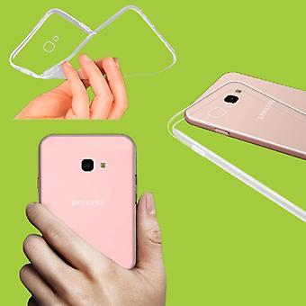 Für Samsung Galaxy J6 Plus J610F Silikoncase Transparent Tasche Hülle Cover Neu