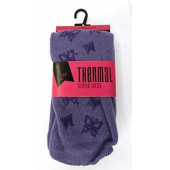 Deslizador de señoras Anucci termal calcetines SK130