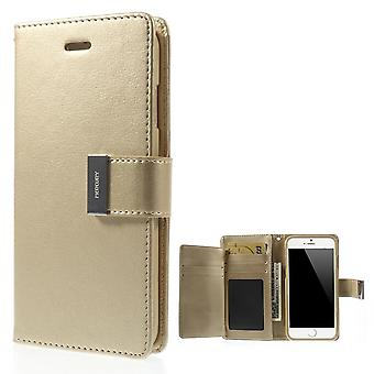 Mercury GOOSPERY Rich Diary for iPhone 6 Champagne