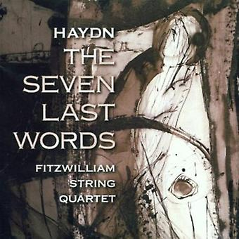 J. Haydn - Haydn: The Seven Last Words [CD] USA import