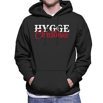 Christmas Hygge Men's Hooded Sweatshirt