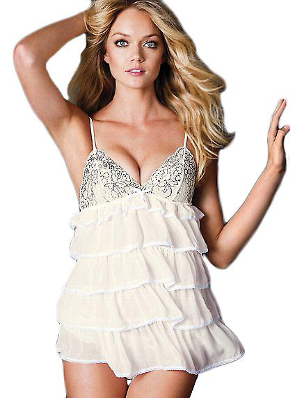 Waooh - Lingerie - Babydoll with ruffles