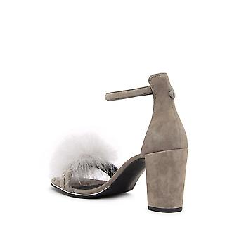 Kenneth Cole New York Womens Lex 3 Leather Open Toe Ankle Strap Classic Pumps